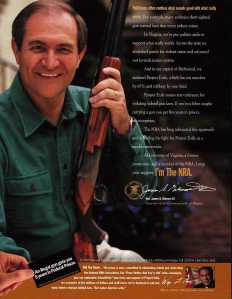 Gilmore Ad for NRA